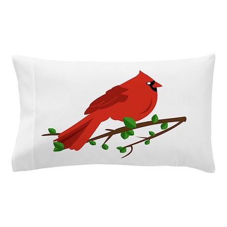 Cardinal Bird Pillow Case by Windmill21