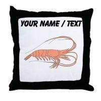 Shrimp Pillows, Shrimp Throw Pillows & Decorative Couch ...