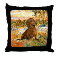 Dachshund Dog Pillows, Dachshund Dog Throw Pillows ...