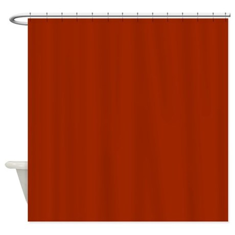 Solid Orange Shower Curtains Solid Orange Fabric Shower Curtain