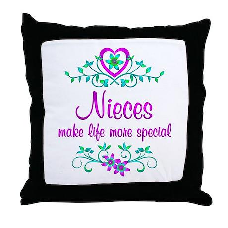 Niece Pillows Niece Throw Pillows  Decorative Couch Pillows