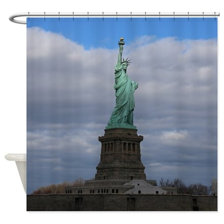 Statue of Liberty NYC Shower Curtain