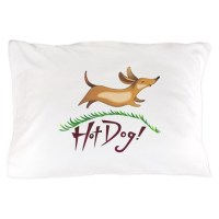 HOT DOG Pillow Case by Greatnotions2