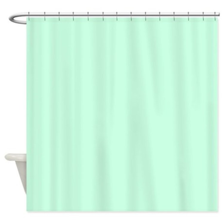 mint green shower curtain fabric. Pastel Mint Green Shower Curtains Fabric Curtain  Integralbook com