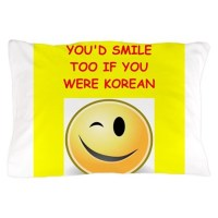 korea Pillow Case by LifeGivesYouShrimp
