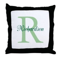 Initial Pillows, Initial Throw Pillows & Decorative Couch ...