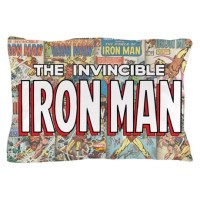 The Invincible Iron Man Pillow Case by MarvelComicsClassic