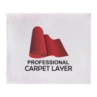 PROFESSIONAL CARPET LAYER Throw Blanket by Greatnotions22
