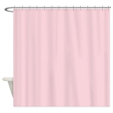 Light Pink Shower Curtains  Light Pink Fabric Shower