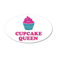 Cupcake baking queen Wall Decal by hqart