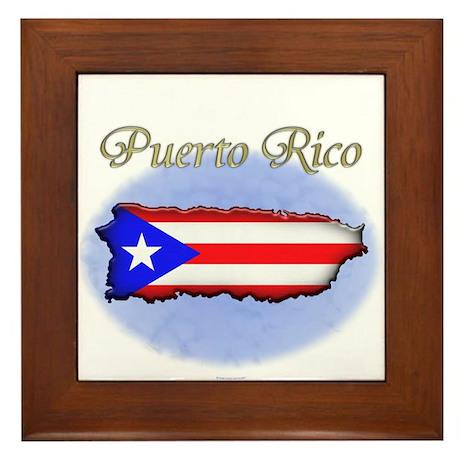 Puerto Rican Framed Art Tiles