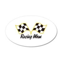 Racing Mom Wall Decal by GrandSlamDesigns01