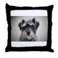Schnauzer Throw Pillow by Admin_CP120068912