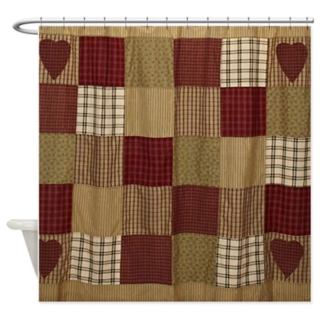 Quilt Design Shower Curtain by simpleshopping