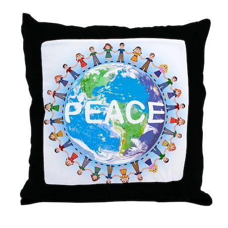 Peace Pillows Peace Throw Pillows  Decorative Couch Pillows