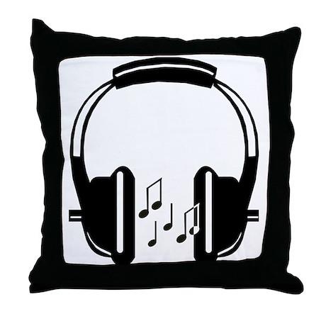 Headphone Pillows Headphone Throw Pillows  Decorative