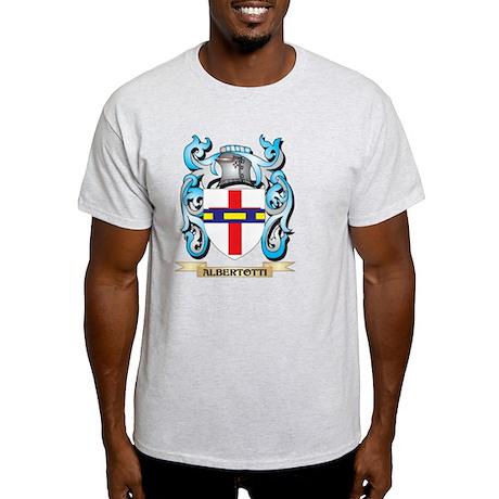 Albertotti Coat of Arms Family Crest Light TShirt