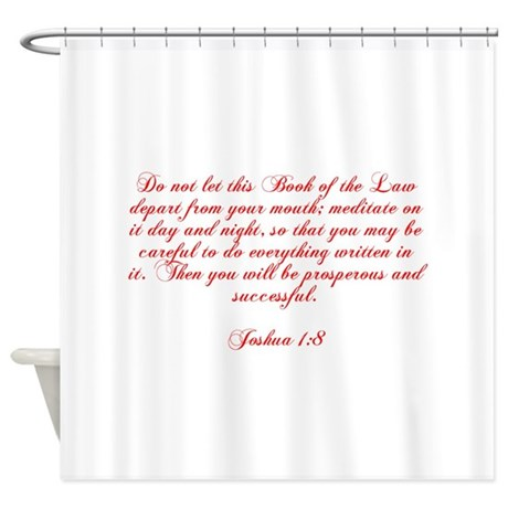 Religious Law Shower Curtains  Religious Law Fabric