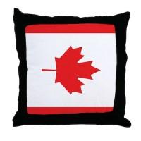Canadian Flag Pillows, Canadian Flag Throw Pillows ...