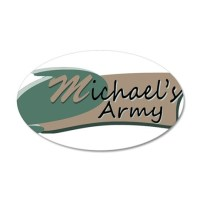 Michaels Army Logo Wall Decal by michaelsarmyshop