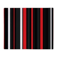 Red white and black. Throw Blanket by Admin_CP119135932