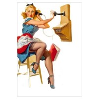 Pin Up Wall Art | Pin Up Wall Decor