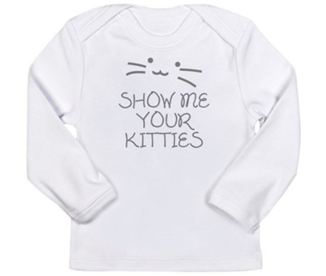 Show Me Your Kitties Long Sleeve Infant T Shirt