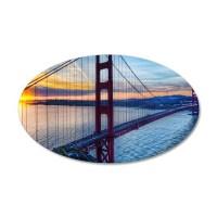 Golden Gate Bridge Wall Sticker by WickedDesigns4