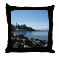 Lake Tahoe, Incline Village Throw Pillow by Admin_CP14940502