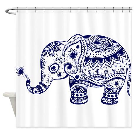 Elephant Shower Curtains  CafePress
