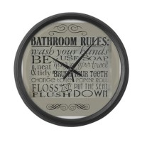 Bathroom Clocks