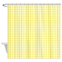 Yellow Shower Curtains | Yellow Fabric Shower Curtain Liner