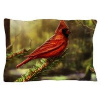 Red Cardinal Bird Bedding