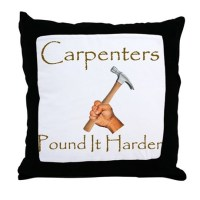 Carpenter Pillows, Carpenter Throw Pillows & Decorative