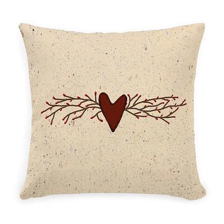 Country Primitive Pillows Country Primitive Throw Pillows