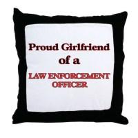 Police Girlfriend Pillows, Police Girlfriend Throw Pillows