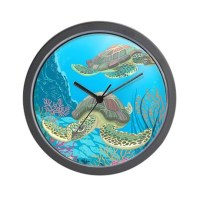 Sea Turtle Wall Clock by BestGear2