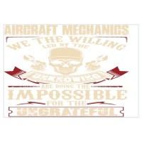 Aircraft Mechanic Wall Art | Aircraft Mechanic Wall Decor