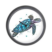 Sea Turtle Wall Clock by ADMIN_CP111924938