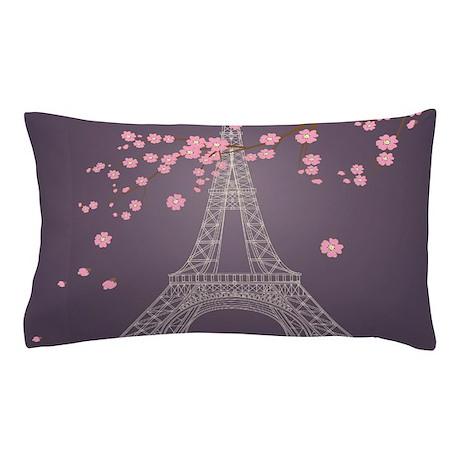 Eiffel Tower Pillow Case by BestGear2