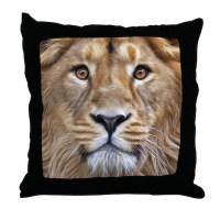 Lion Pillows, Lion Throw Pillows & Decorative Couch Pillows