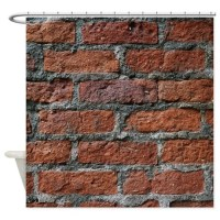 Old brick wall Shower Curtain by Admin_CP129071891