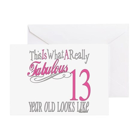 13 Year Old Girl Greeting Cards Card Ideas Sayings