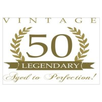 Funny 50 Year Anniversary Wall Art | Funny 50 Year ...