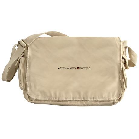 4th Planet Logistics Logo Shirt Messenger Bag