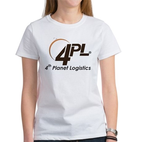 4th Planet Logistics Transparent Crescent Logo T-S