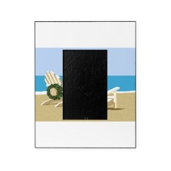 Beach Chair Photo Frame Hanging Amart Chairs Picture Frames Cafepress With Wreaths