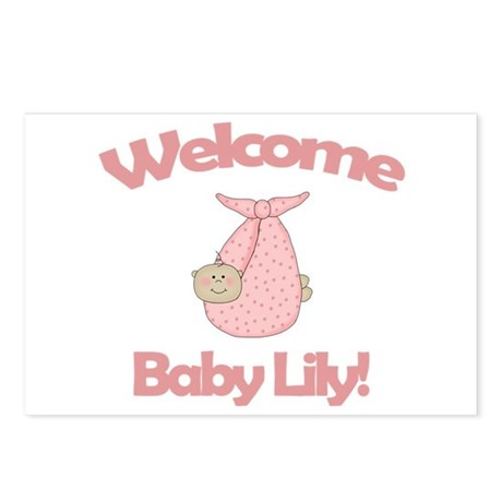 Baby Name Lily Postcards Baby Name Lily Post Card Design