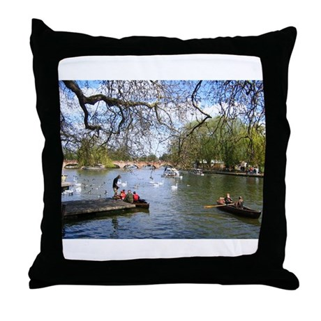 Stratford Throw Pillow by theresalee