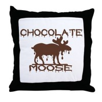 Chocolate Moose Pillows, Chocolate Moose Throw Pillows ...